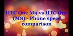 HTC One M9 vs HTC One M8   Phone specs comparison
