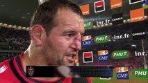 TOP 14 - Toulon - Paris: interview Carl Hayman (TLN) - Demi-finale -2014-2015