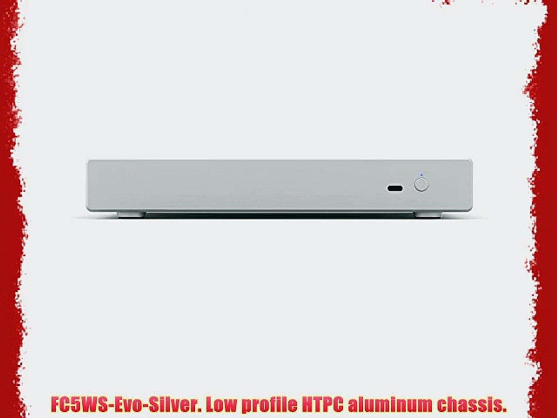 ITX4-v3-Silver Mini HTPC chassis Wesena 100/% Aluminum