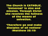 WHICH IS THE TRUE CHURCH OF JESUS CHRIST? (The Early Christians knew!) Catholic? Where? [Bible]