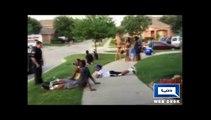 Dunya News-US cop pulls gun on teens