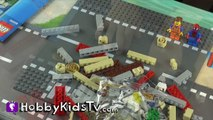 LEGO City Police Museum Break-in Museum Build 60008 Spider-Man and Emmet HobbyKidsTV