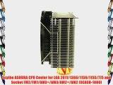 Scythe ASHURA CPU Cooler for LGA 2011/1366/1156/1155/775 and Socket FM2/FM1/AM3 /AM3/AM2 /AM2