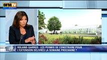 """Les permis de construire du """"Nouveau Roland-Garros"""" sont signés, annonce Hidalgo"""