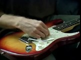 Fender Stratocaster: Electric Guitar Setup : How to Remove Guitar Strings: Fender Strat