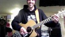 Reprise de Highway To Hell d'ACDC avec une guitare batterie  DINGUE!!!!