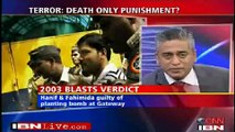 ROW OVER DEATH ROW !::1/3::CNN-IBN Panel Debate:: Death Penalty The Ultimate Deterrent To Terror???