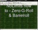NoLimits how to - ZeroG and Barrelroll