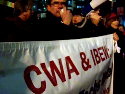 Labor Movement Supports VZB Techs