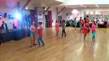 Danses à deux à Douarnenez gala 2015  ados    cha cha --salsa