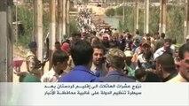عشرات العائلات تنزح من الأنبار إلى إقليم كردستان