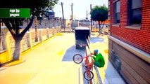 GTA 5 Stunts - Awesome Bike Stunt! - (GTA V Stunts & Fails)