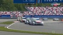 Russia2015 Race 1 Start Van Lagen Spins Coronel DAste Spins Bennani