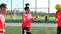 Techniktraining FC Bayern München U17 Frauen und Mädchen