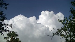 TIME LAPSE CLOUDS LIGHTNING STORM 1080 HD Tampa cl