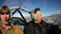 Flying Zenith light sport aircraft from Carson City to Lake Tahoe