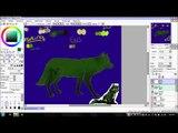 Drawing Taurus The Dog (Dog/Wolf Speedpaint!)