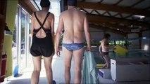 Renaud et Fabienne Lepic   A la piscine