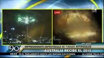 Año Nuevo: Así recibió el 2015 Nueva Zelanda y Australia