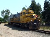 Rebuilt leslie air horn on Northwestern Pacific railroad BUGX #1322 out for a test drive