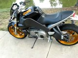 2004 Buell XB12S with Hawk Performance Exhaust - Drive by