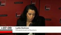 """Lydia Guirous: """"si j'ai cette ascension, c'est aussi parce que je le mérite"""""""