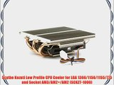 Scythe Kozuti Low Profile CPU Cooler for LGA 1366/1156/1155/775 and Socket AM3/AM2 /AM2 (SCKZT-1000)