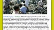 3 New Islands Form in Arabian Sea Following 7.7 Pakistan Earthquake!