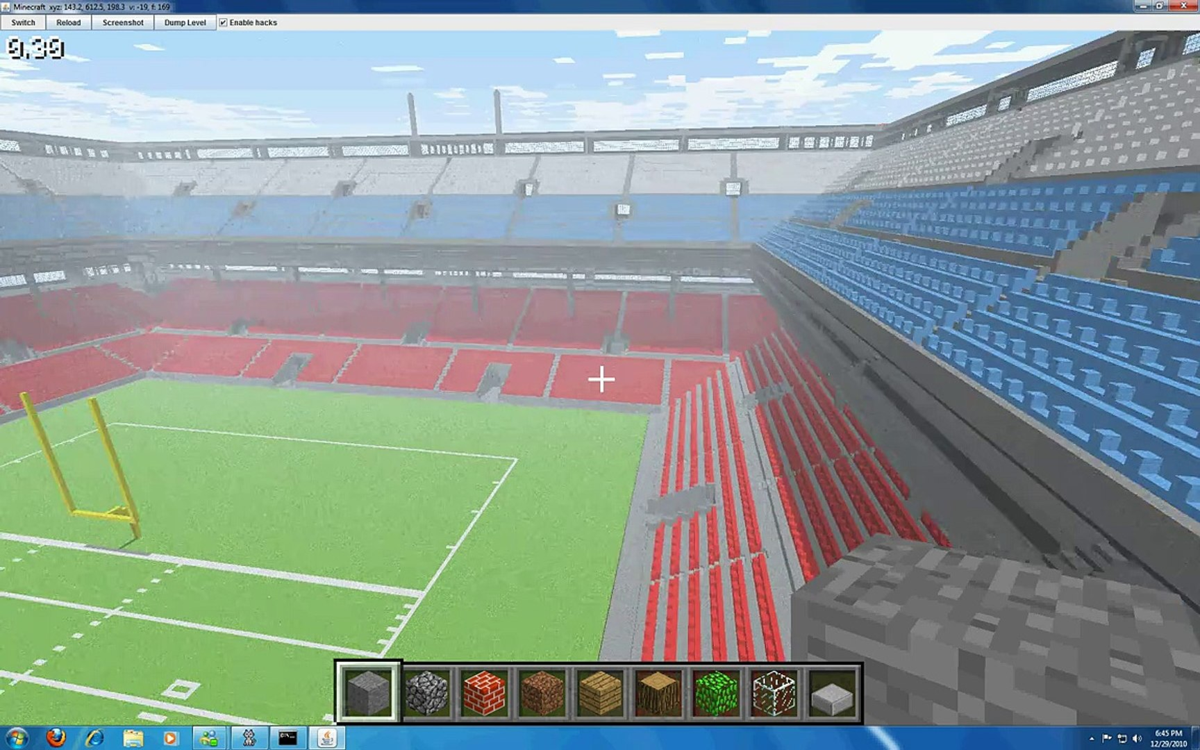 soccer stadium minecraft