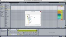 Ableton Live Free Intro EDM Electro - Making a Complete Track Start to Finish Beginners