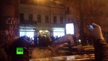 Goodbye, Lenin: Protesters topple monument in Kiev (Extended Video)