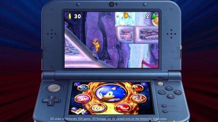 Nintendo 3DS - Sonic Boom Fire & Ice Announcement de Sonic Boom : le Feu et la Glace