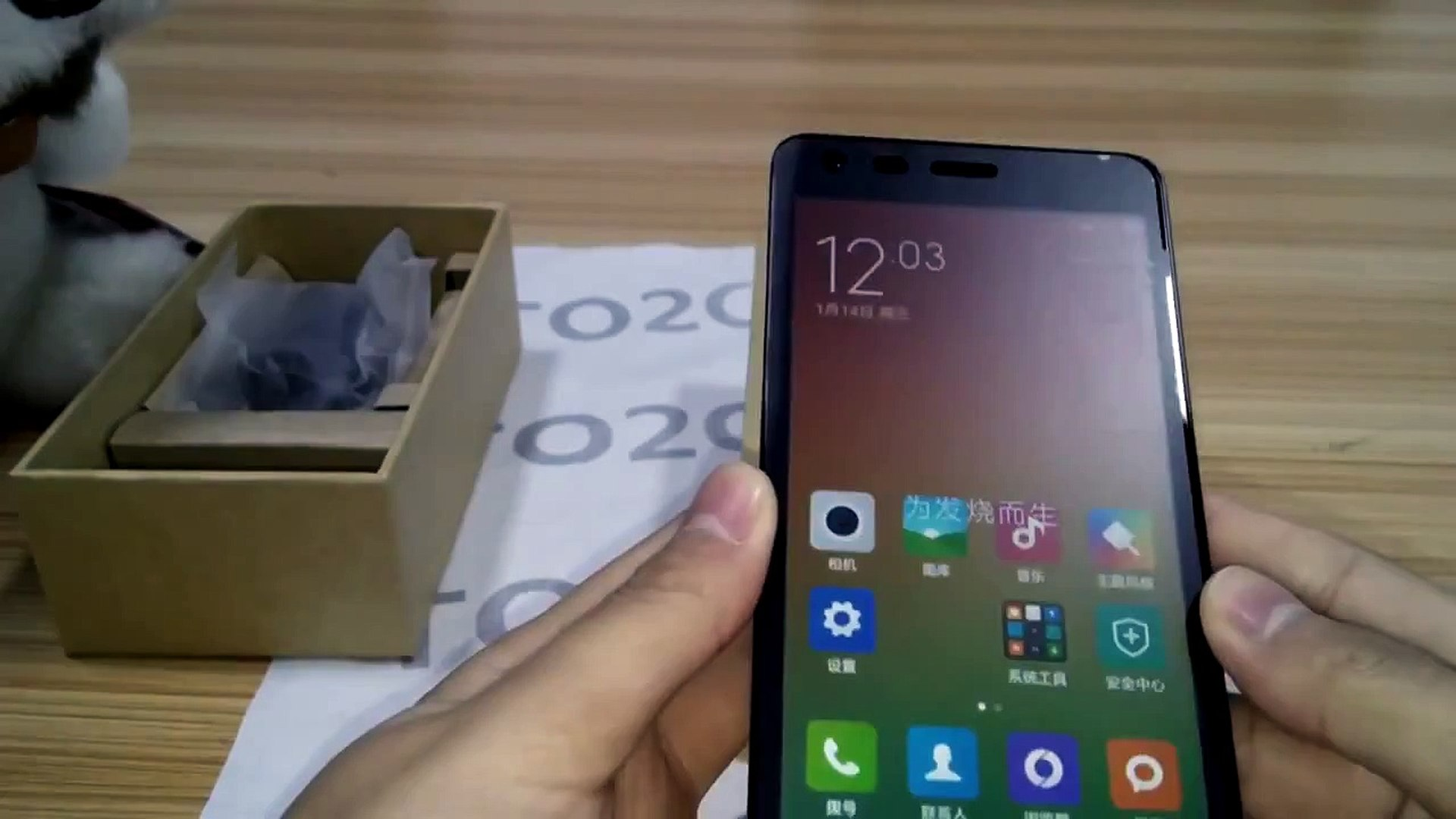 Xiaomi Redmi 2 Unboxing & Phone Review Music , Game , Video , Call ,Setting