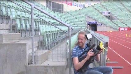 Quand Zlatan ne sait pas où mettre sa peau de banane !