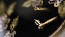 Les broderies Lesage de la montre Mademoiselle Privé de Chanel Horlogerie