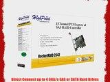 HighPoint RocketRAID 2642 4-Channel PCI-Express x4 SAS 3Gb/s RAID Controller