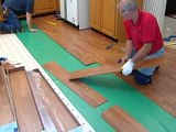 Laminate Flooring Installation (Airbase Carpet and Tile)