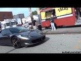 Ferrari 458 Acceleration! + BMW M5 and Corvette Accelerations!