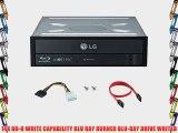 LG 14X Blu-ray M-Disc CD DVD BDXL BD Burner Drive with FREE 15pk Mdisc DVD   Cyberlink 3D Playback