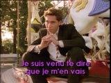 Je suis venu te dire que je men vais - Serge Gainsbourg - Karaoke