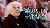 102-Year-Old Woman Receives Ph.D. Denied To Her By Nazis 77 Years Earlier