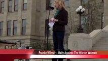 Franke Wilmer - Rally against the War on Women Highlights