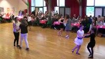 Danses à deux à Douarnenez  gala 2015  enfants confirmés  cha cha cha