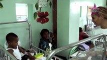 Beyoncé au chevet des enfants malades en Haïti (Vidéo)