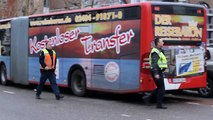 Ravage bij ongeval met Duitse bus in Vaals