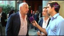 François Berléand, Paul Belmondo, Ramzy Bediaà la soirée de lancement de la nouvelle Jaguar!