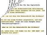 """Gerichtsvollzieher """"Ich komme von der BRD GmbH und verhafte Sie!""""  Lörrach Efringen-Kirchen"""