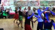 Danses à deux à Douarnenez  gala 2015  adultes initiés cha cha cha