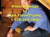 Wet Ceiling Drying - Water Damage Service | Bulington Tewksbury Bedford Wilmington MA