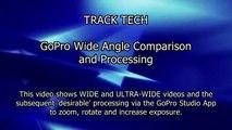 GoPro HERO - Wide vs Ultra Wide Angle + Desirable Processing (Onboard Motorsport Video)